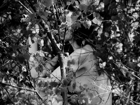 Exploring the landscape through the body, photo credit: Eduardo Abrantes