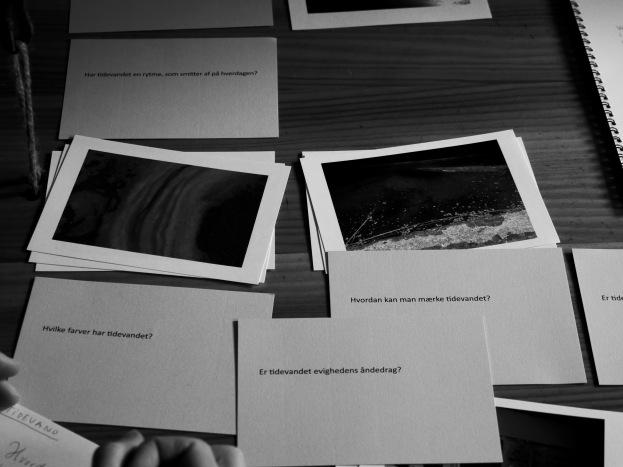 portable archive installation by artist Maj Horn, inside the ship Rebekka at Nordby, photo credit: Eduardo Abrantes