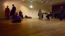 Quadraphonic live performance at Edinborgarhúsið, photo credit: Matthildur Helgadóttir Jónudóttir